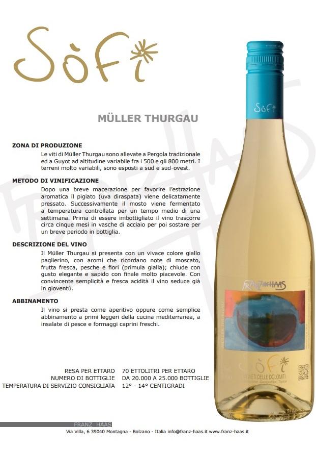 Fiori Gialli Vino.Muller Thurgau Alto Adige Bertazzo Food