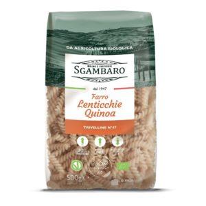 Trivelline farro lenticchie quinoa